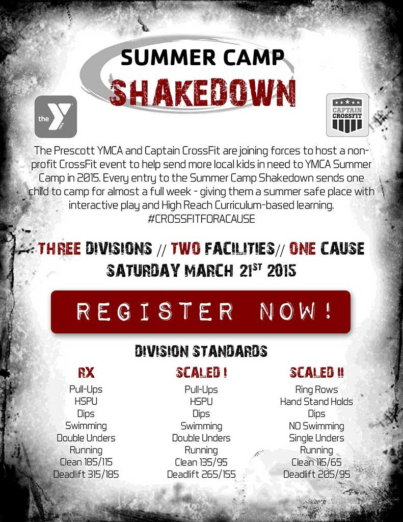 Click To Learn More About The Summer Camp Shakedown