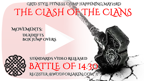The Clash Of The Clans | Battle Of Francis WOD Standards And Demo