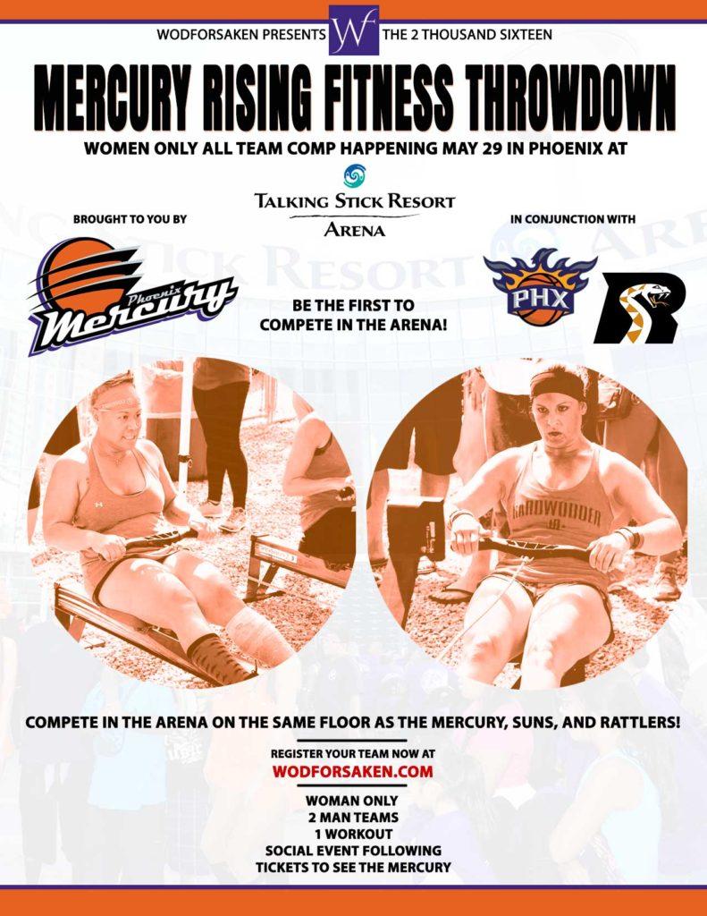 Mercury Rising Fitness Throwdown
