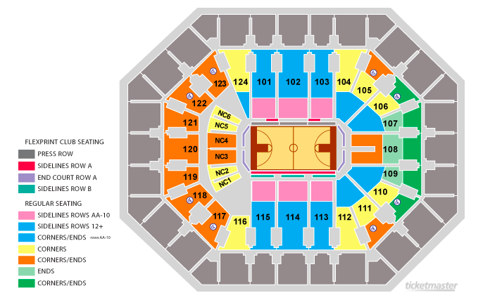 Talking Stick Resort Arena Seating Chart