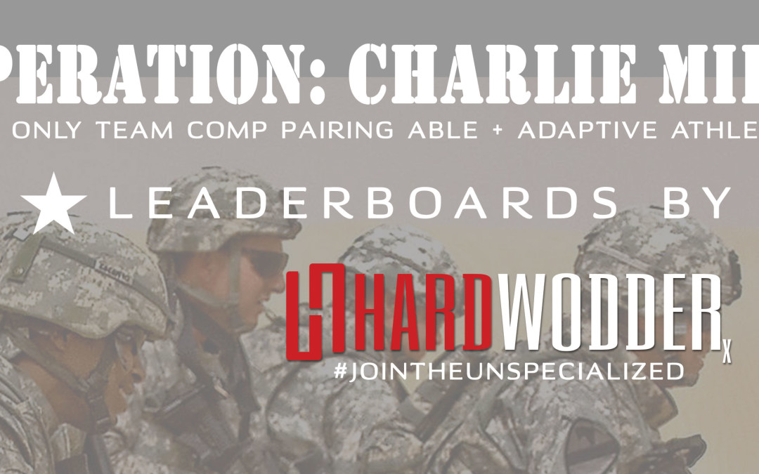 The 2016 OPERATION: CHARLIE MIKE Leaderboard